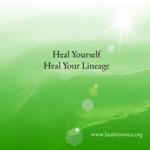 Heal Yourself Heal Your Lineage